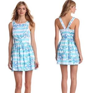 Lilly Pulitzer Sandrine Tossing the Line Dress